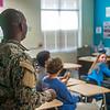 C/3-81 AR IMSO Visit to Veteran's Memorial Middle School