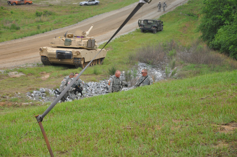 The Sullivan Cup tests the best of the best of Armor Crews in physical fitness and the ability to overcome a changing battlefield in both live and virtual worlds to see who is the Top Armor Crew. Photos by 2LT Stephen Anderson, 316 CAV.