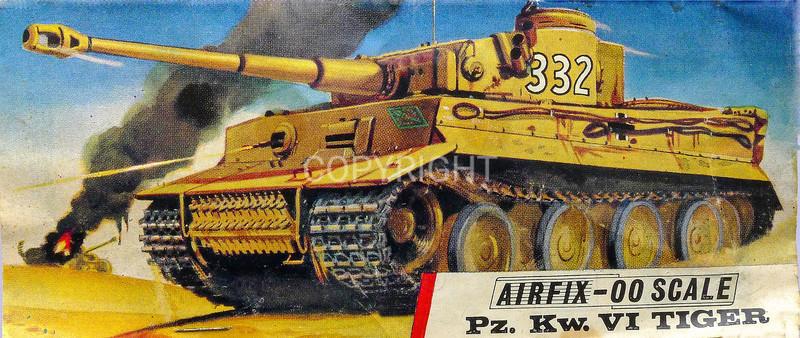 German Tiger tank.