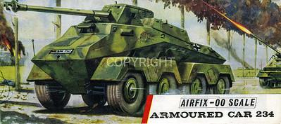 WW11 German armoured car