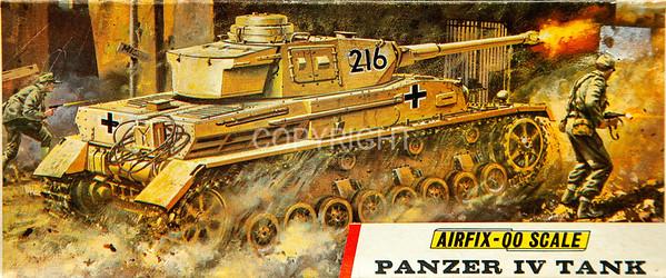 WW11 German Panzer tank.