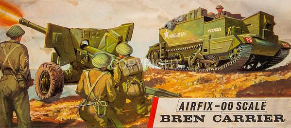 WW11 British Army Bren carrier.