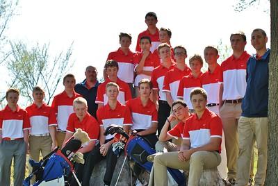 Falcon Boys Golf Team Photos