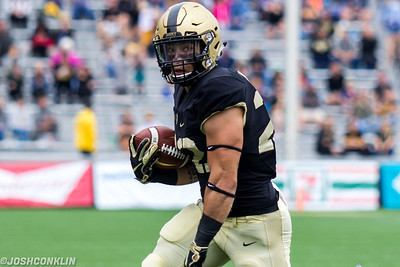 Army's Calen Holt runs for a touchdown during their game against Liberty at Michie Stadium in West Point saturday. Josh Conklin/For The Times Herald-Record
