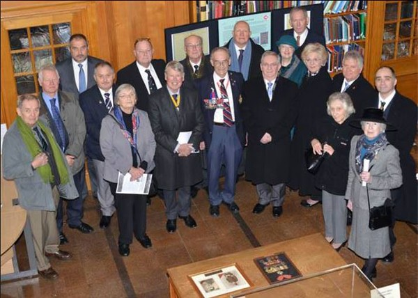 Family of those who died on HMS Kent on the 8th December 1914