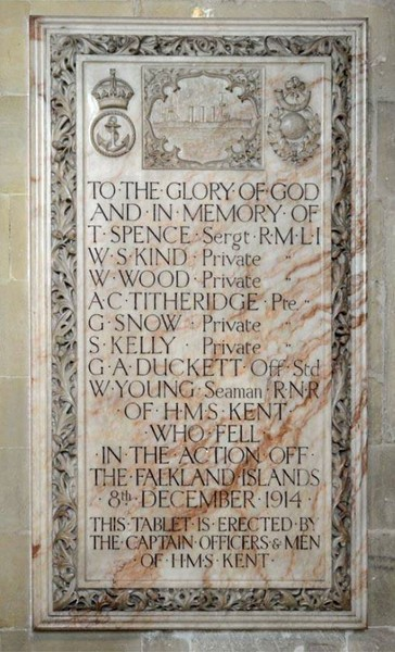 The Memorial in Canterbury Cathedral