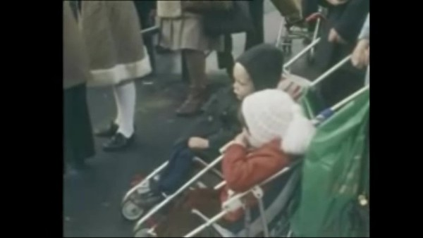 BBC footage of Christmas in Belfast 1978