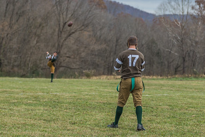 Army/USMC Football Match @ Sgt. Alvin York Veterans Program Weekend 11/17