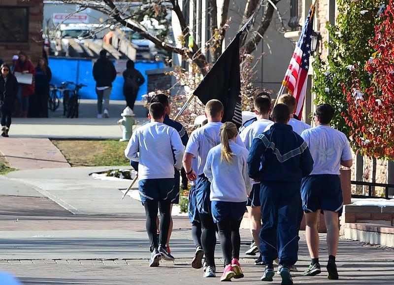 Arnold Air Society's POW/MIA 24 Hour Vigil Run for 2016