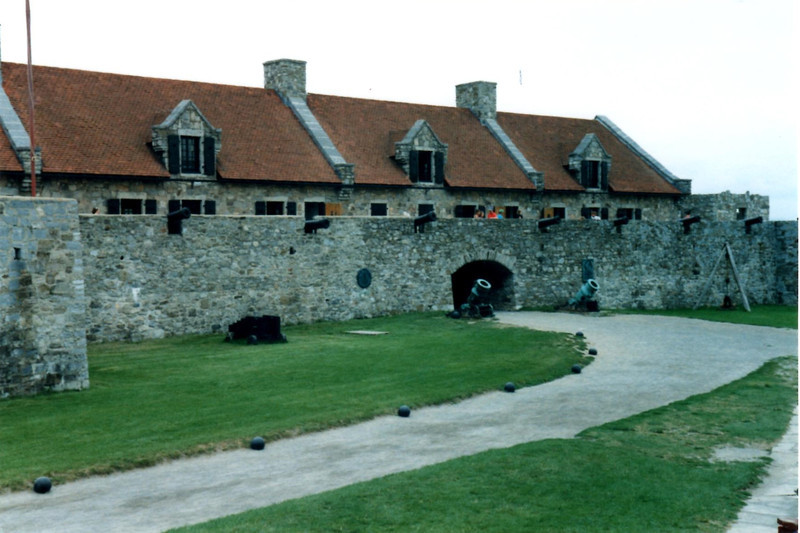 A view of the main entrance to the fort. Arnold and Allen entered without much opposition early in the morning of May 10, 1775.