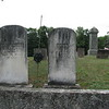 The graves of Chandler and his wife
