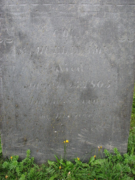 Inscription on the gravestone