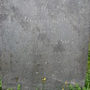 Inscription on the gravestone