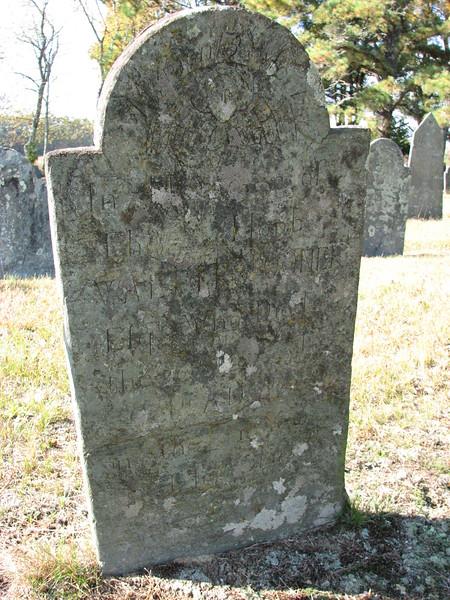 Gravestone of Walter Spooner