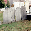 Samuel Mansfield's gravestone is the one between the two small stones