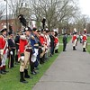 "Annual reenactment of ""Powder House Day"" on New Haven Green"
