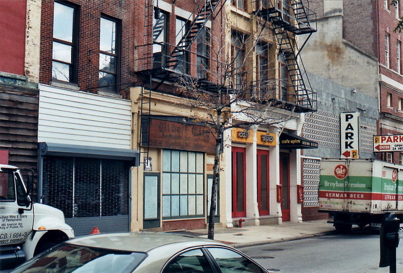 East side of Second Street, between Blackhorse Alley and Chestnut Street.