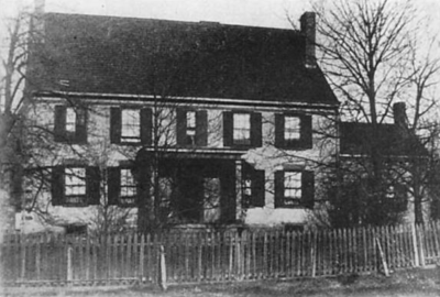 Another old photo of the home.