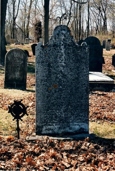 Nathaniel Wade's gravestone