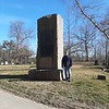 A photo to show the size of the monument