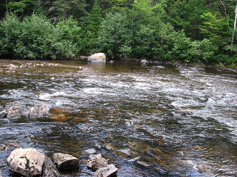 The Dead River just below Shadagee Falls