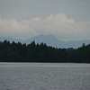 Zoomed view of the Bigelow Range from the beach at Natanis Point Campground