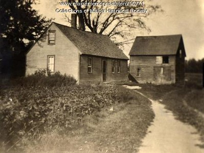 Old photo of Emery Hill House