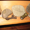 The two metal objects are the only artifacts from the expedition on display, among many Native American items.