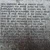 Inscription on the obelisk