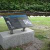 Interpretive panel at the picnic area