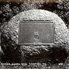 Old postcard of the boulder
