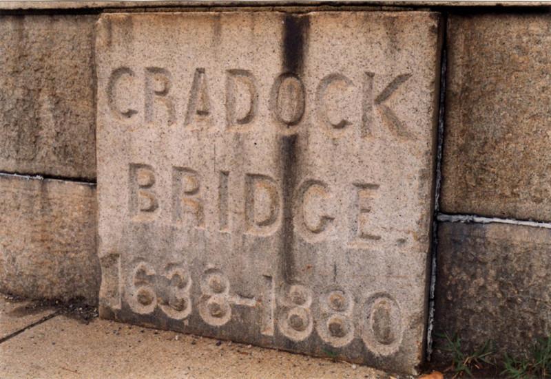 Wording on the bridge