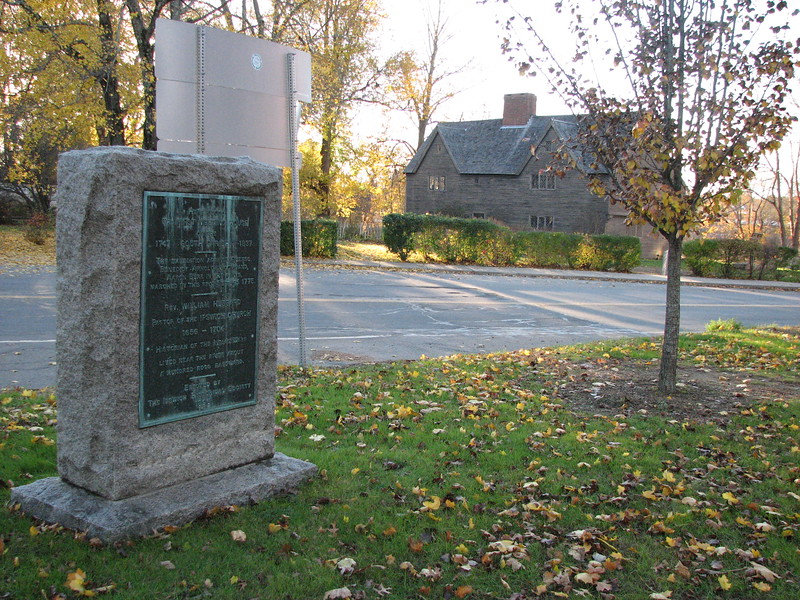 Setting of the marker