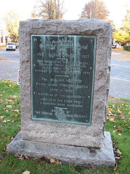 Close up of the marker