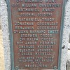 This plaque on the Greenleaf St gate into the cemetery mentions Tracy.