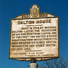 Historical marker in front of the house
