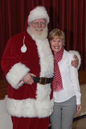 Santa Reading at MA