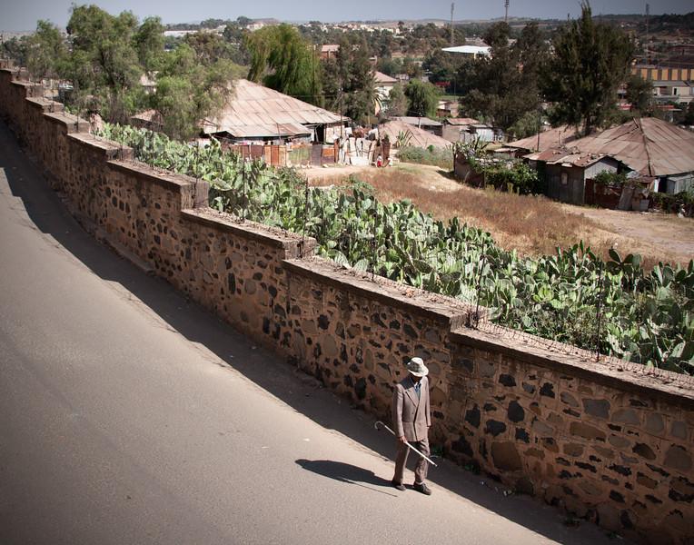 Walking to Town, Asmara, Eritrea
