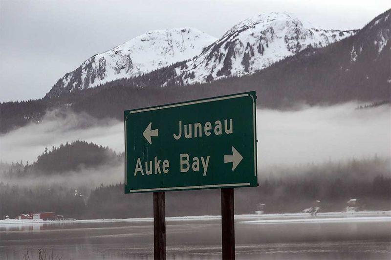 I'm in Juneau Alaska. Neat!