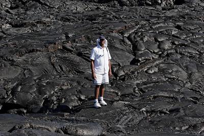 Lava fields. Big Island HI