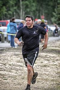 Jesse Keaveny looking a little muddy..