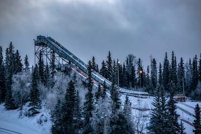 Hilltop Ski Jump