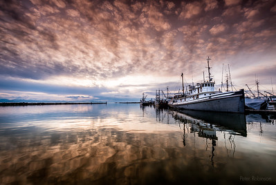 Steveston Marina Sunset