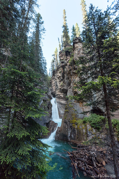 Lower Falls at Johnston Canyon