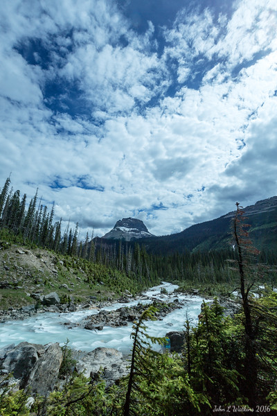 Wapta Mountain Near Takakkaw Falls