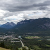 Banff From Mount Norguay
