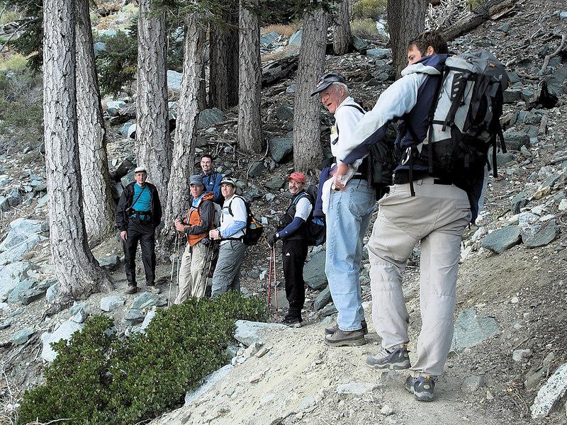 Baldy Bowl Trail to San Antonio Ski Hut<br /> October 10, 2006<br /> Alan, Chris, Dave, Scott, Richard, John, Kurt