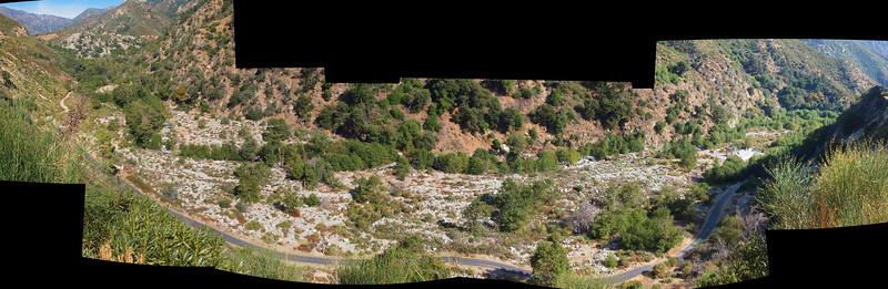 San Antonio Creek panorama<br /> October 14, 2011