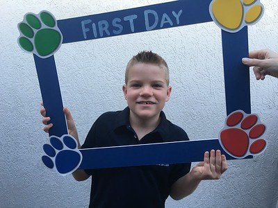 First Day of School 2016-2017