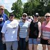 Dr. Walt Wheeles, Pastor; Kathy Barbosa, Peggy Wheelus, Angie Gordon, Sharon Byrd - Volunteers Ball Ground UMC